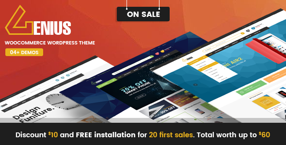 VG Genius - Multipurpose WooCommerce WordPress Theme