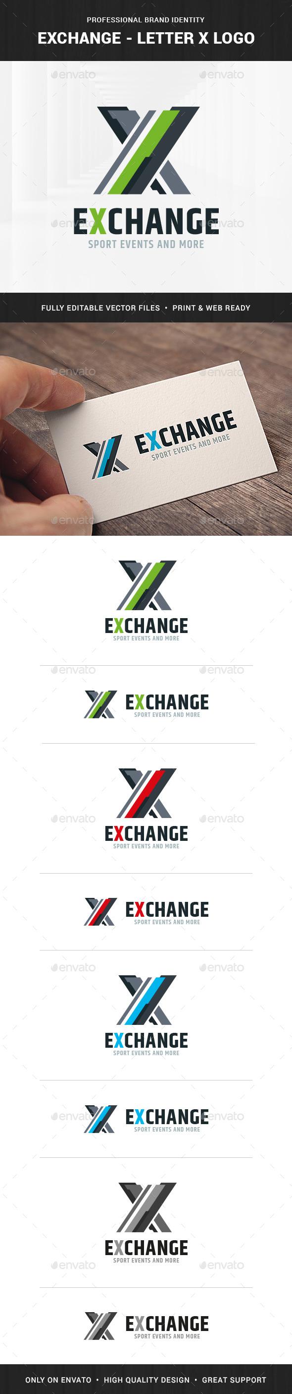 Exchange - Letter X Logo