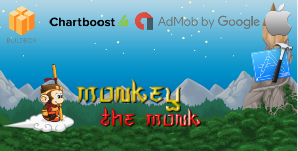monkey the monk - Buildbox Game Template + iOS Xcode Project Template (BBDOC)