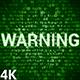 Warning 4K (2 in 1) - VideoHive Item for Sale