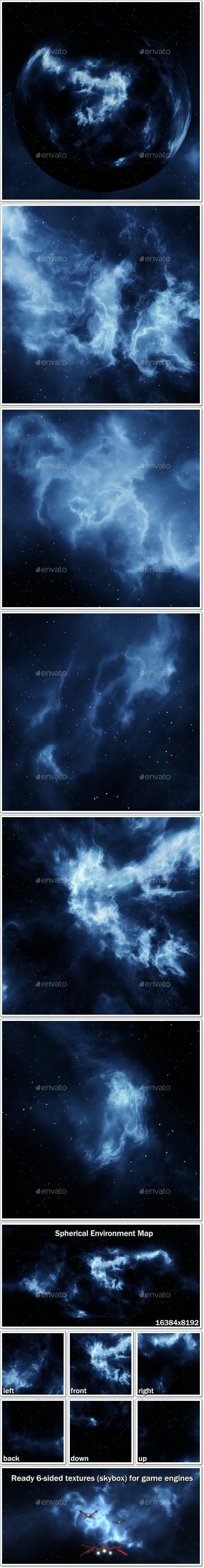 Skybox CG Textures & 3D Models from 3DOcean