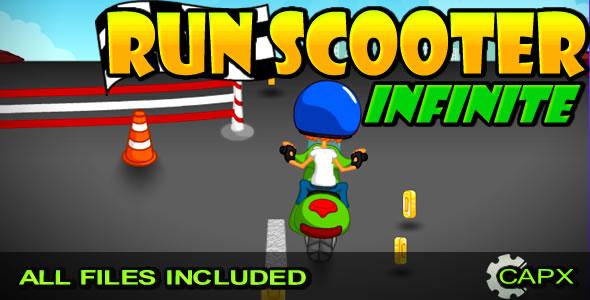 Run Scooter - Infinite / (CAPX, HTML)