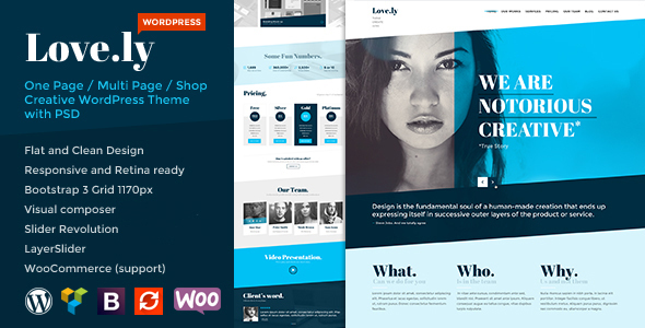 Love.ly - Simple & Elegant WordPress theme