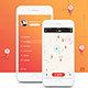 VeloBike Rental App UI Concept - GraphicRiver Item for Sale