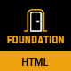 Foundation - Construction Responsive HTML Template - ThemeForest Item for Sale