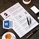 Minimal Resume/CV - GraphicRiver Item for Sale
