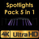 Truss Girder And Spotlight Sets  - VideoHive Item for Sale