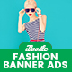 Fashion Banners Ad - GraphicRiver Item for Sale