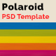 Polaroid Template - GraphicRiver Item for Sale