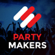 Party Makers - Music Event / Festival / DJ Responsive Muse Template - ThemeForest Item for Sale