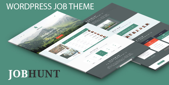 JobHunt WordPress Theme