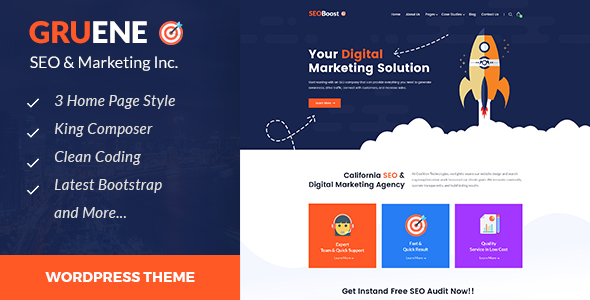Seo Agency Templates from ThemeForest