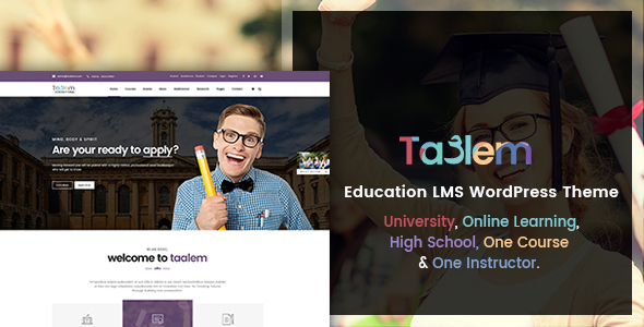 Taalem – Education LMS WordPress Theme