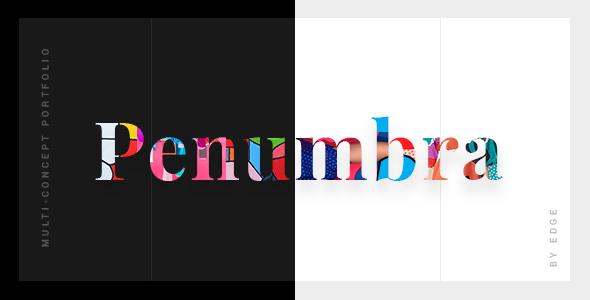 Penumbra - Multi-Concept Design Portfolio Theme