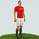 Ibrahimovic football Player game ready character - 3DOcean Item for Sale