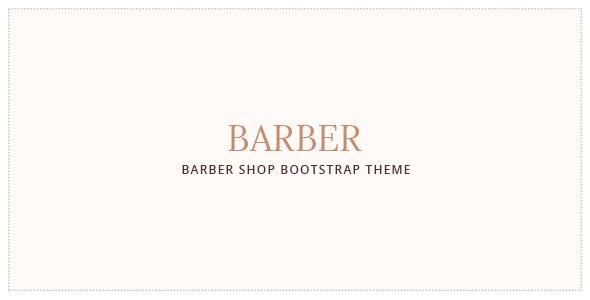 Barber - Hair Salon Bootstrap Template