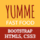 Yumme - Food Court Responsive HTML Template - ThemeForest Item for Sale