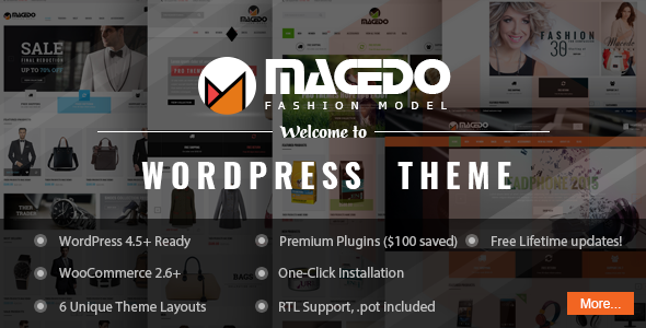 VG Macedo - Fashion Responsive WordPress Theme
