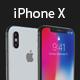 iPhone X 3D | Cinema 4D + Element 3D - 3DOcean Item for Sale