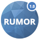 RUMOR - Personal Blog & Magazine Template - ThemeForest Item for Sale
