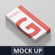Box Mockup - High Slim Rectangle - GraphicRiver Item for Sale