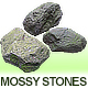 Mossy Stones - 3DOcean Item for Sale