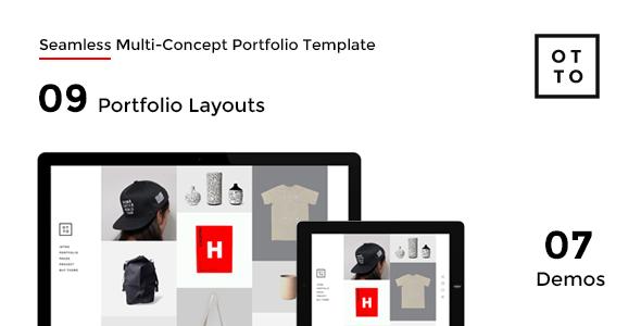 OTTO - Seamless Multi-Concept Portfolio Joomla Template