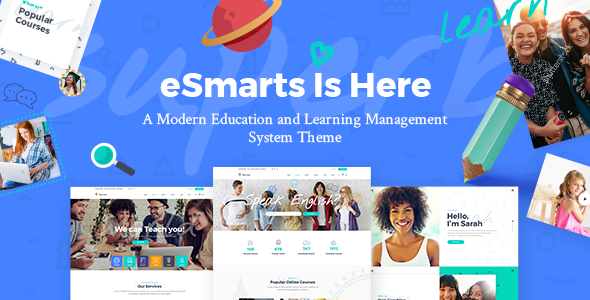 eSmarts - Education & LMS Theme