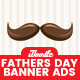 Father's Day Banners Ad - GraphicRiver Item for Sale
