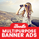 Multipurpose Banners Ads - GraphicRiver Item for Sale