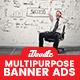 Multipurpose Banner Ad - GraphicRiver Item for Sale