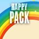 Upbeat Happy & Fun Logo Pack