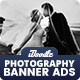 Wedding Photography Banners Ads - GraphicRiver Item for Sale