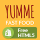 Yumme - Food Court Responsive Sectioned Shopify Theme - ThemeForest Item for Sale