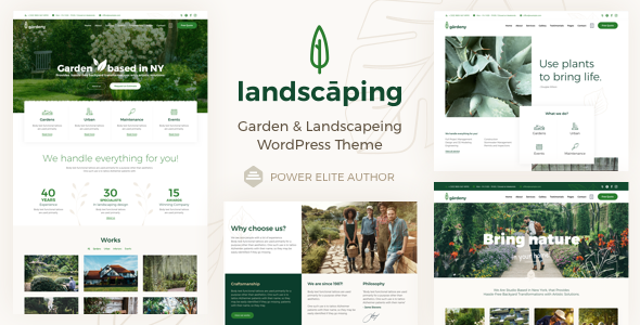 Landscaping - Garden Landscaper WordPress