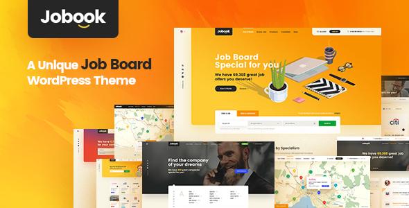 Jobook - Startup Company WordPress Theme