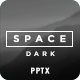 Space Dark PowerPoint - GraphicRiver Item for Sale
