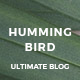Hummingbird - The Ultimate Blog Theme - ThemeForest Item for Sale