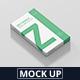 Box Mockup - Medium Size Flat Rectangle - GraphicRiver Item for Sale