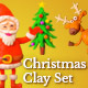 Christmas Clay Set - VideoHive Item for Sale