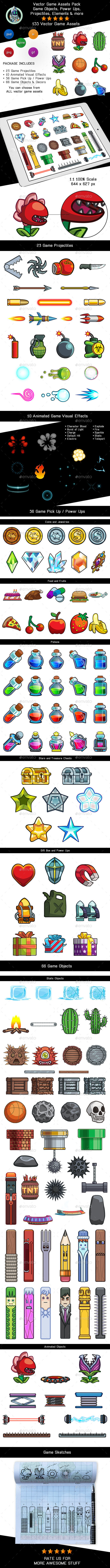 Game Assets Vectors from GraphicRiver
