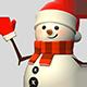 3D Snowman - GraphicRiver Item for Sale