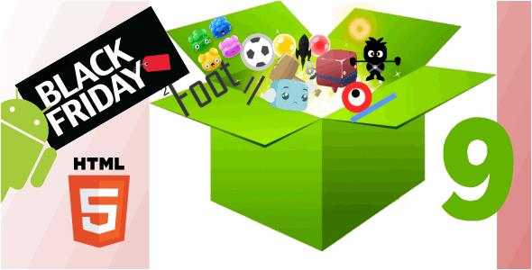 Bundle - HTML5 9 Games Download
