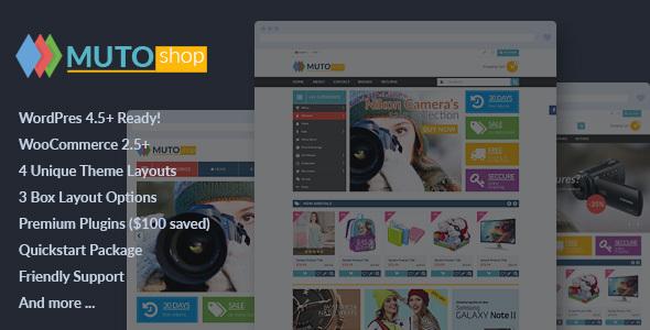 VG Muto - Mega Shop Responsive WooCommerce Theme