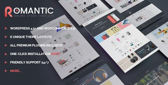 VG Romantic - Responsive Multipurpose WooCommerce Theme