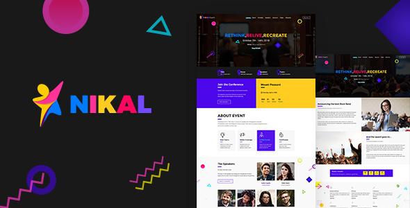 Nikal - Event WordPress