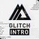 Black White Glitch Logo - VideoHive Item for Sale