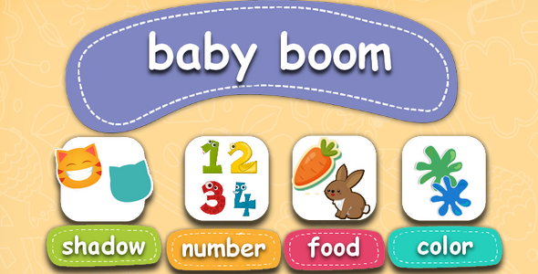Baby boom-educational children's game Download