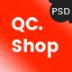 QCShop - eCommerce PSD Template - ThemeForest Item for Sale