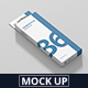 Box Mockup - Rectangle Slim High with Hanger - GraphicRiver Item for Sale